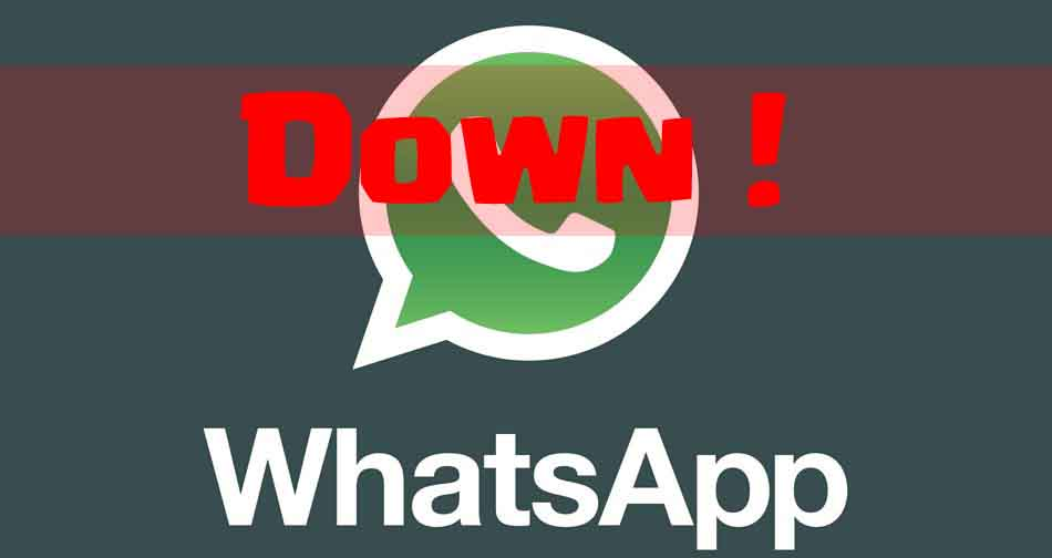 WhatApp Mengalami Server Down Tadi Malam