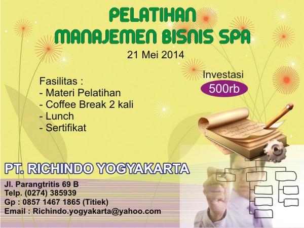 manajemen bisnis spa mei 2014