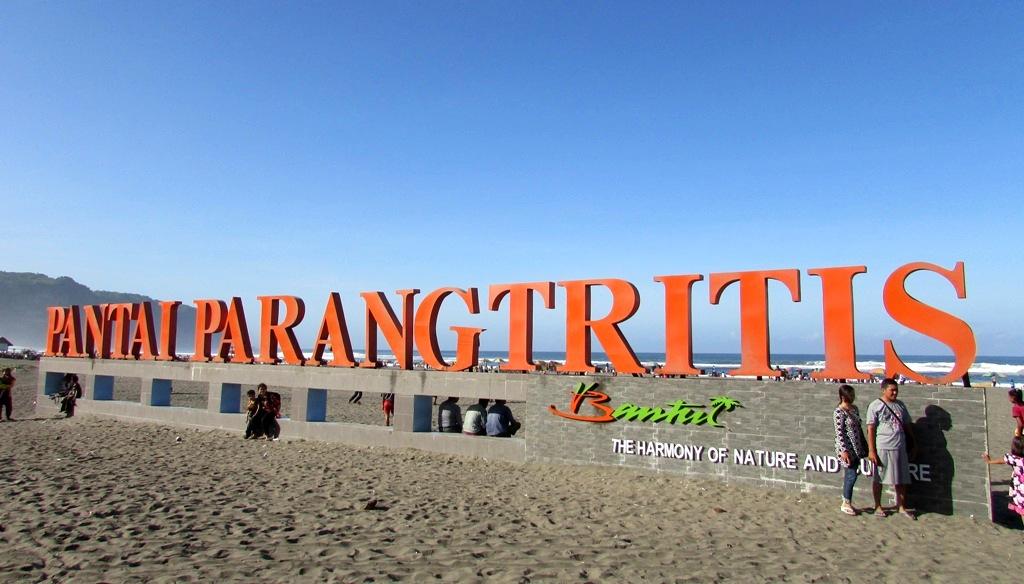 Parangtritis Beach in Jogja