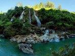 Sri Gethuk Waterfall in Gunung Kidul