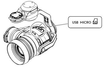 Camera Micro-SD Card Slot