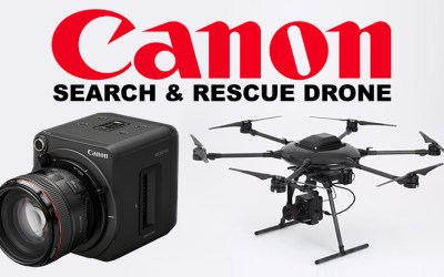 Canon Drone dibuat dari DJI Parts