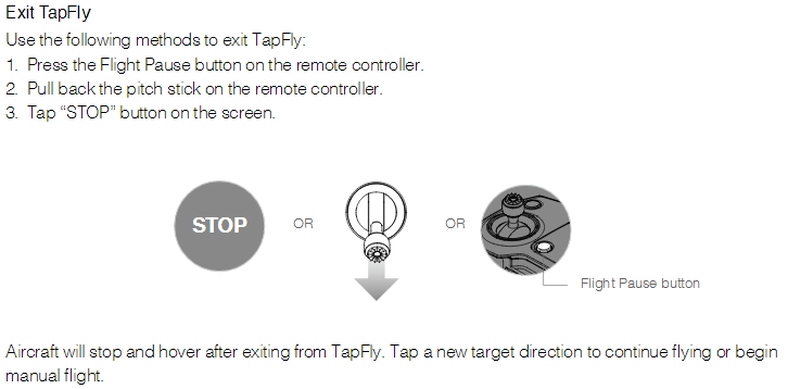 Using TapFly