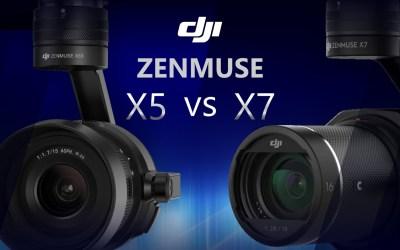 Test Footage Zenmuse X7 VS Zenmuse X5S