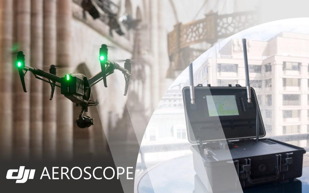 AeroScope: DJI Scanner yang Dapat Menangkap Info Drone