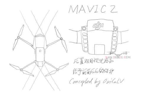 DJI Mavic Pro II rumor