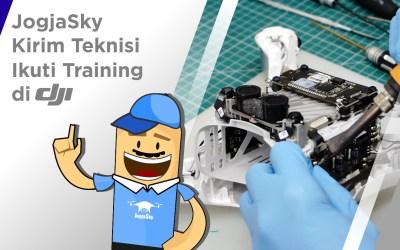 JogjaSky Kirim Teknisi Ikuti Training di DJI