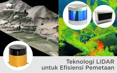 Teknologi LiDAR untuk Efisiensi Pemetaan