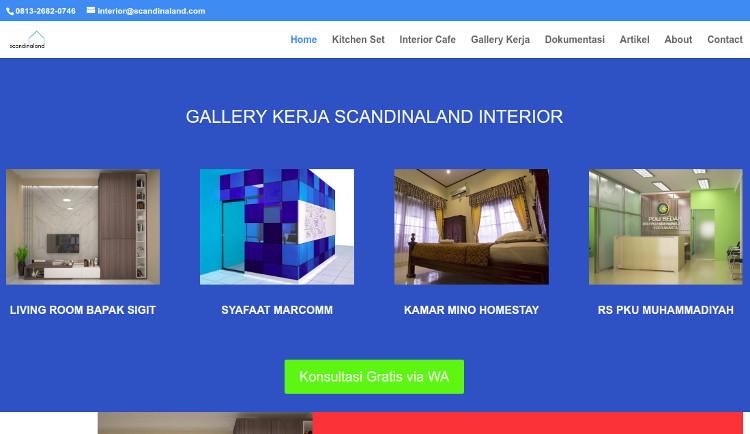 Perusahaan interior Scandinaland Interior Jogja