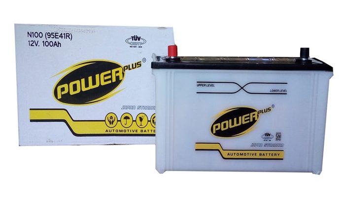 Contoh produk Aki Mobil Power Plus. Sumber : Google