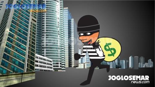ilustrasijs perampokan pencurian 2