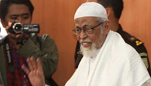 Abu Bakar Baasyir. tempo