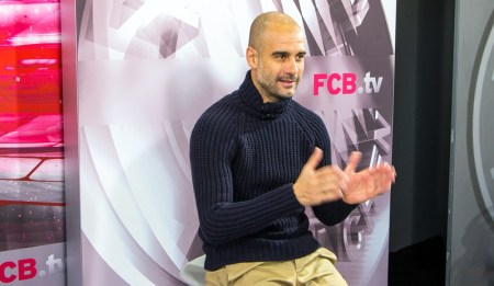 Interview With Pep Guardiola