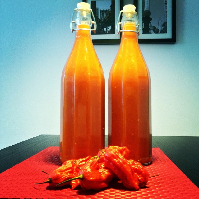 Ghost Chili Mango Hotsauce