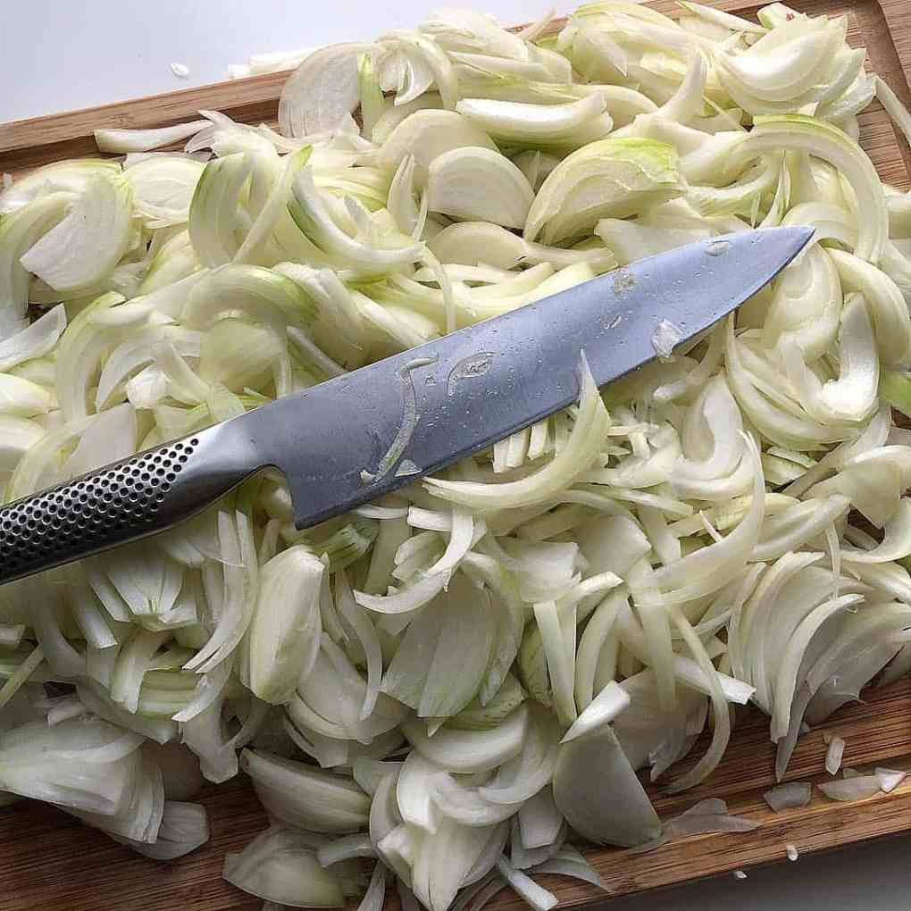 Onions for French Onion Soup