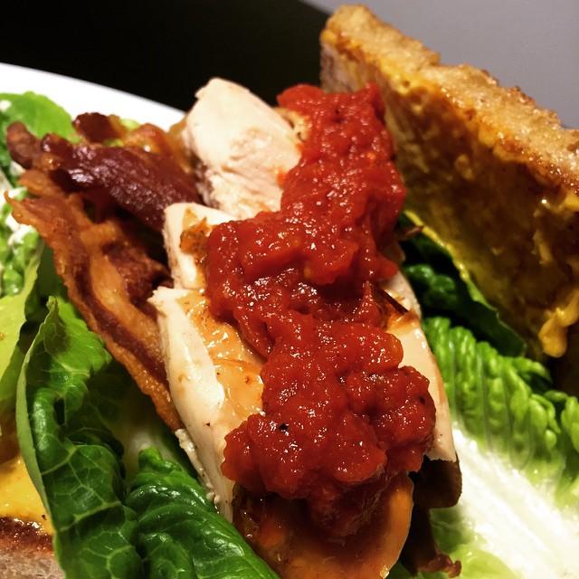 Gourmet club sandwich
