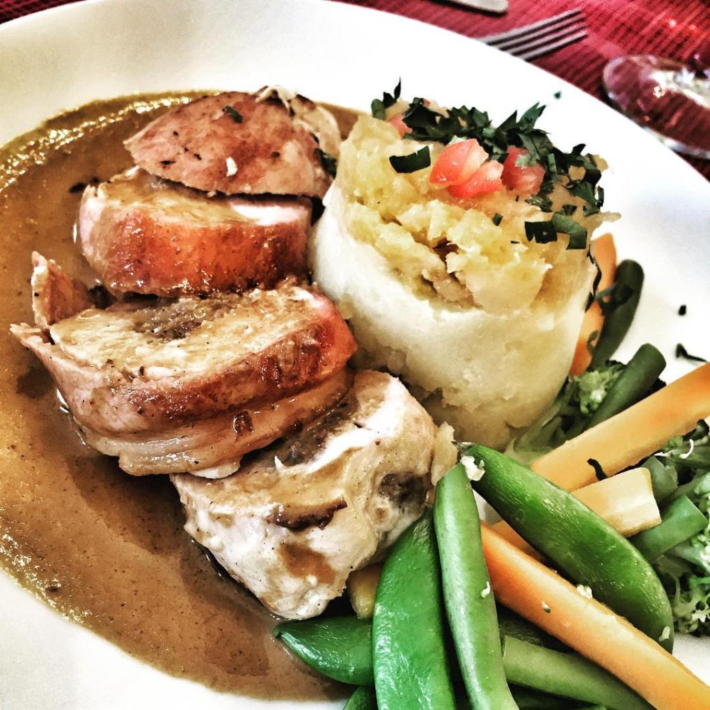 Haggis stuffed Chicken Breast