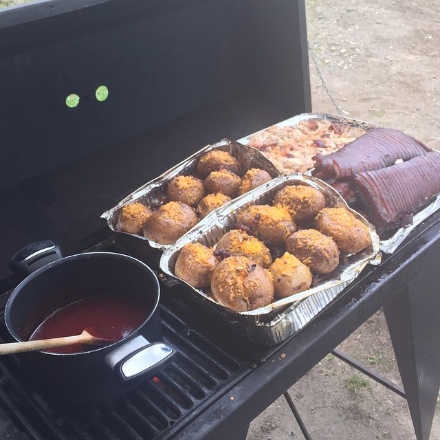 BBQ for a crowd