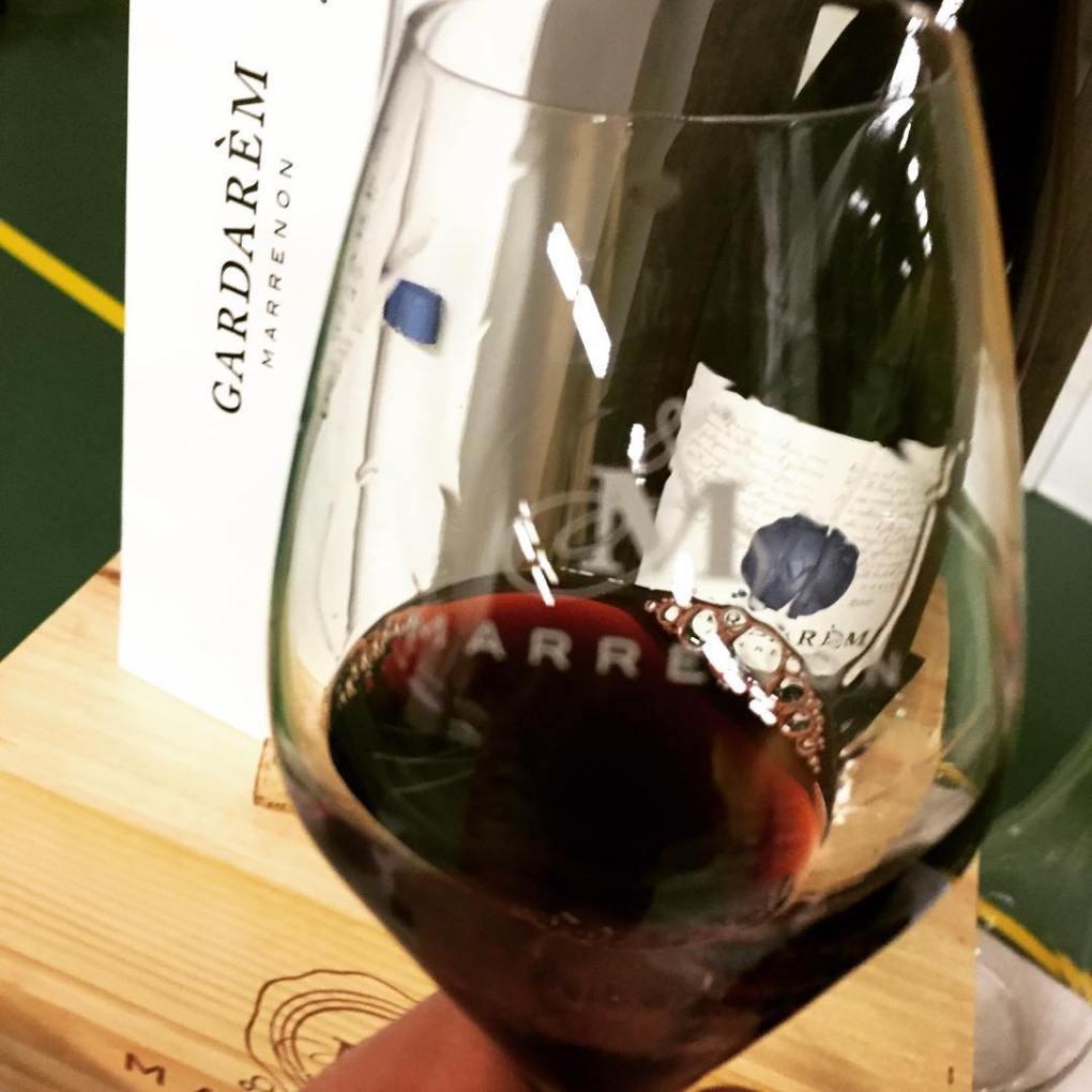 Gardarem wine in glass