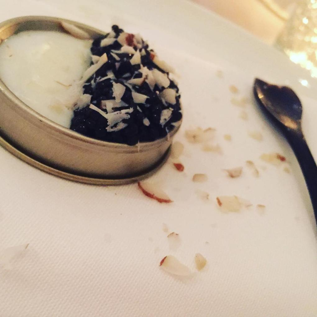 Caviar and Panne Cotta at Gastromé