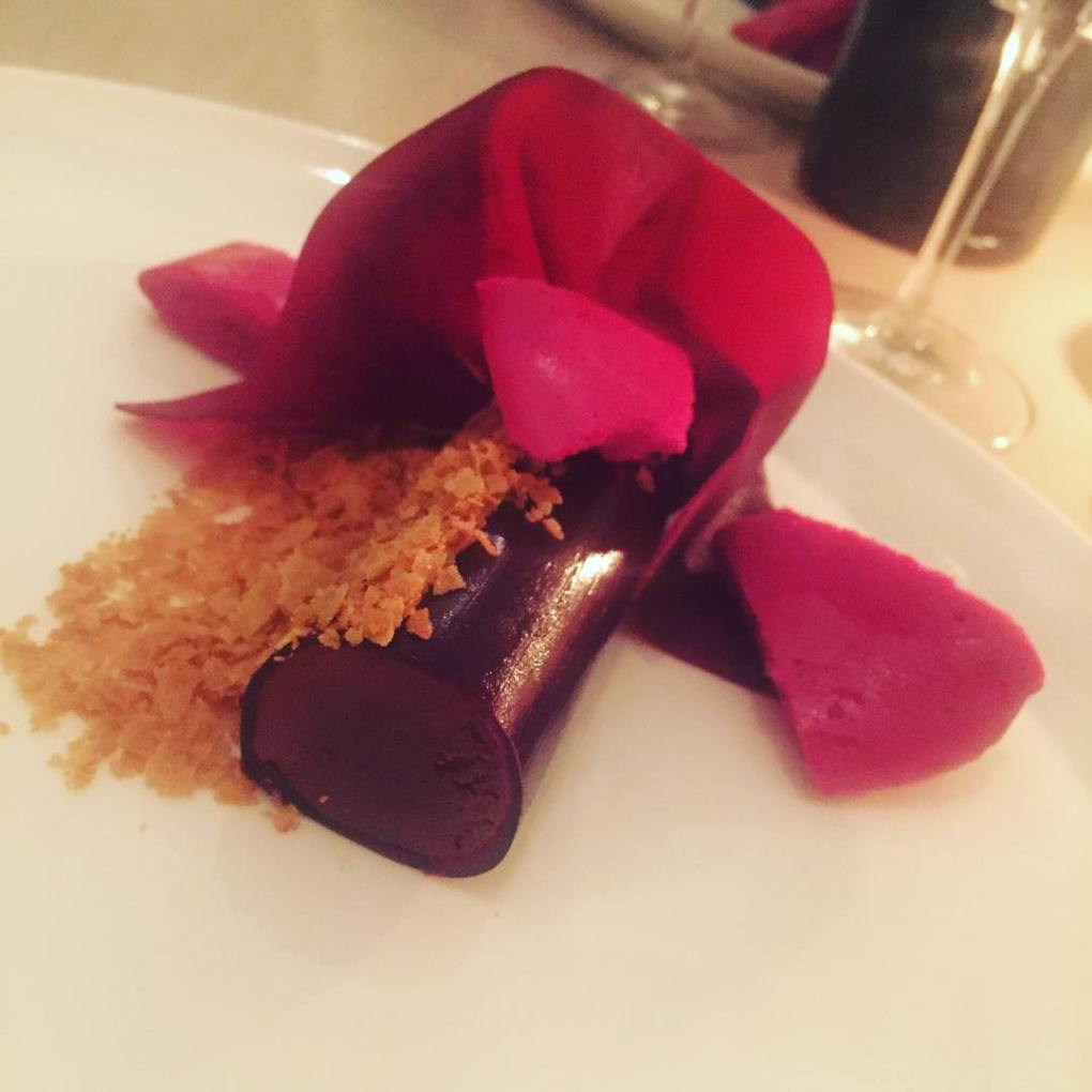 chocolate and beetroot dessert