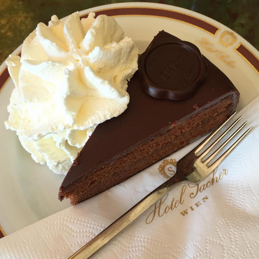 Sacher Torte at Hotel Sacher
