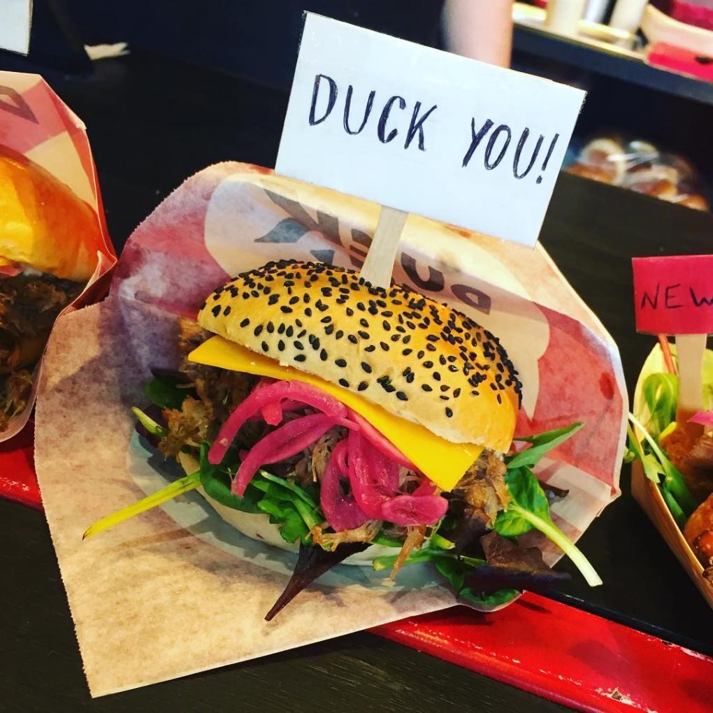 Duck Burger - Aarhus Street Food