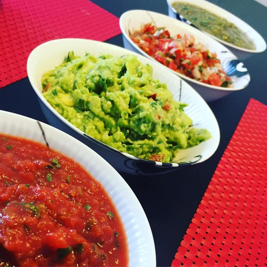 a variation of salsas