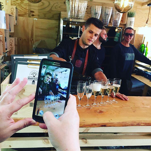 champagne at madværket - smukfest