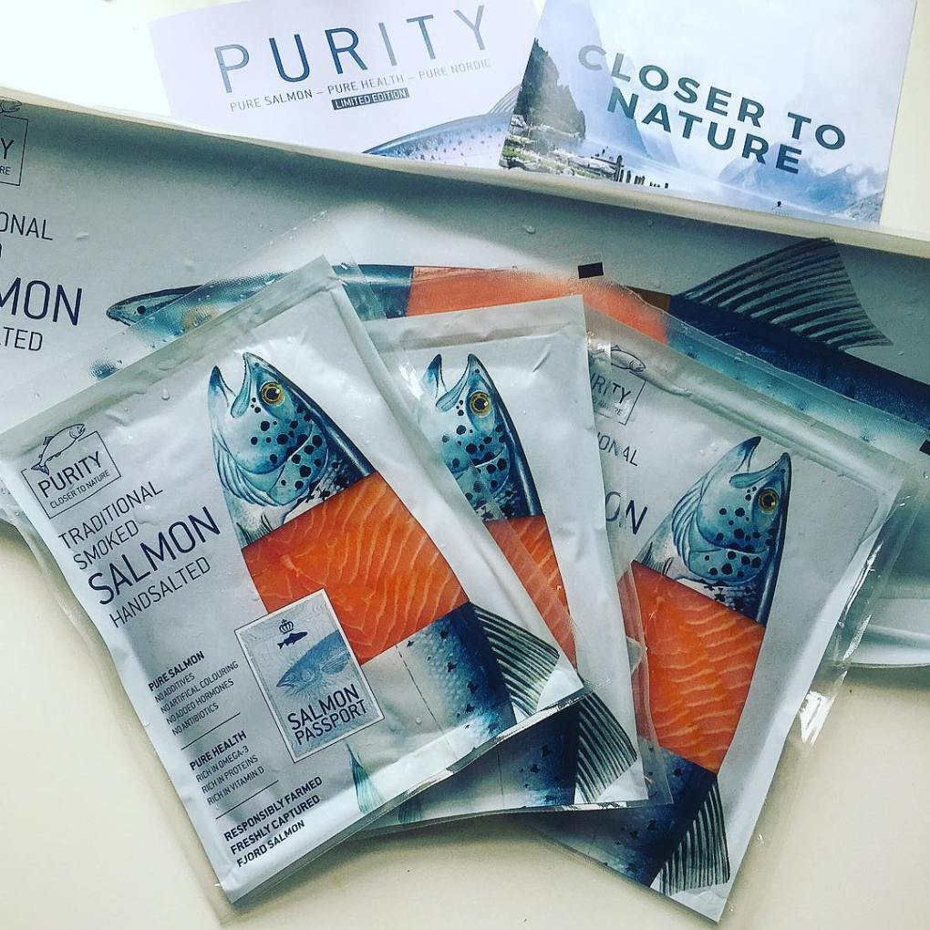 purity line smoked salmon by vega salmon