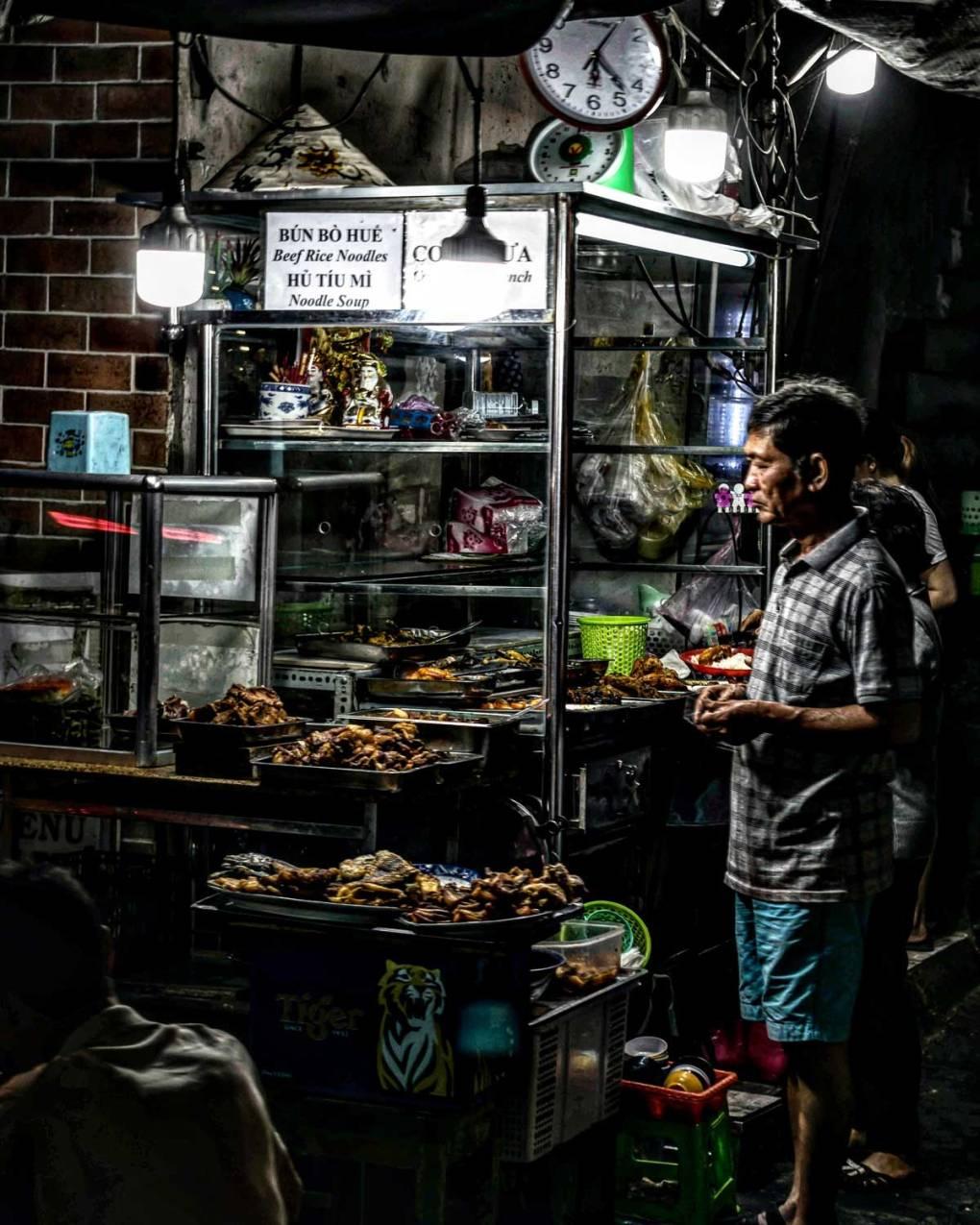 Vietnam street kitchen