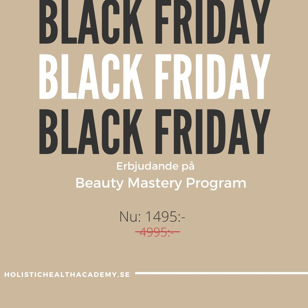 Black Friday Erbjudande!