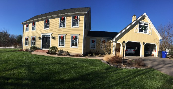 house is christmas ready