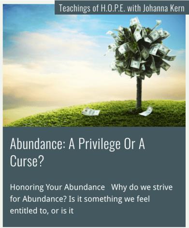 Abundance - Johanna Kern