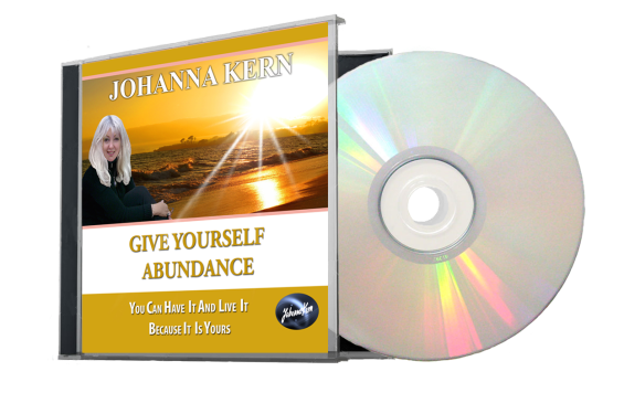 Give Yourself Abundance_CD with cover TRANSPARENT