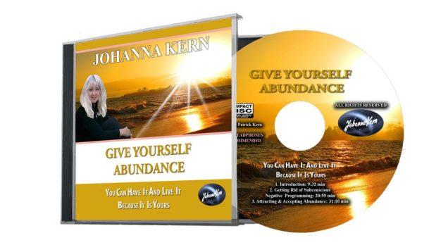 Give yourself abundance