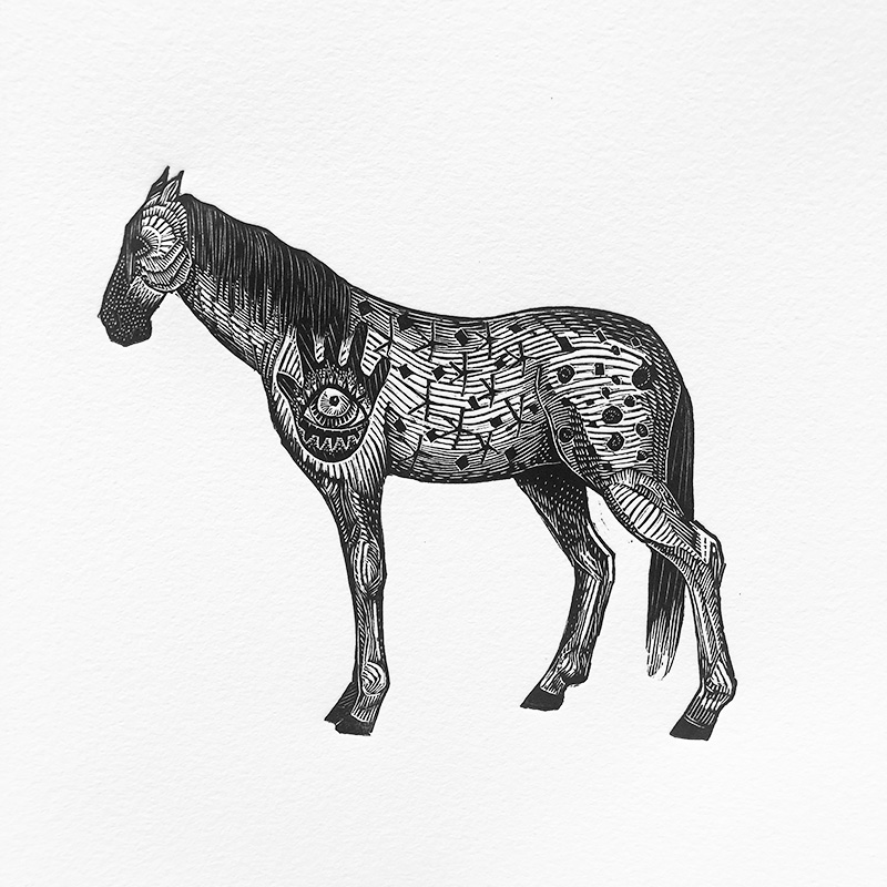 Ancestor Pony Print Edition by Johanna Mueller