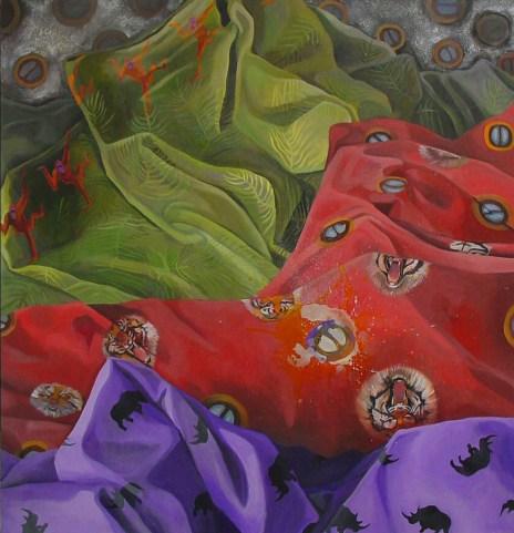 04_Palm Oil_56_x 54_acrylic on canvas