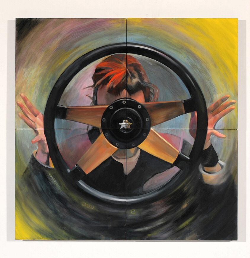 Driven_Blind Ambition_ 32x32inches2006