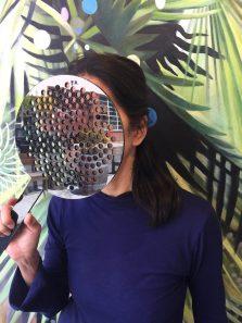 Parastichy mirror mask