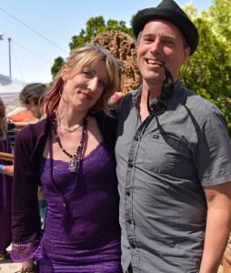 Johanna with Ben Leinbach