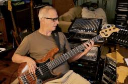 Danny Solomon playing bass