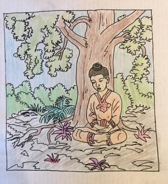 Buddha coloring book 2