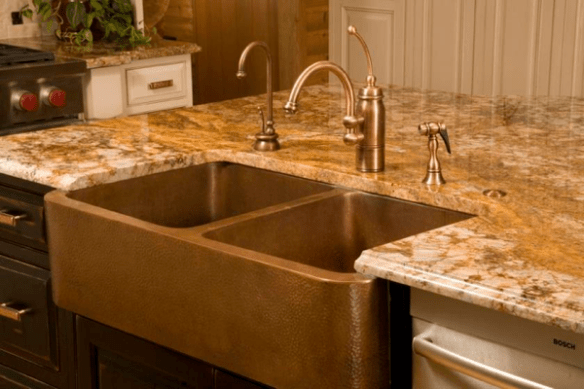 Selecting Faucet Finish and Style Copper Faucet