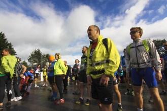 At the start of the Killarney Adventure Race