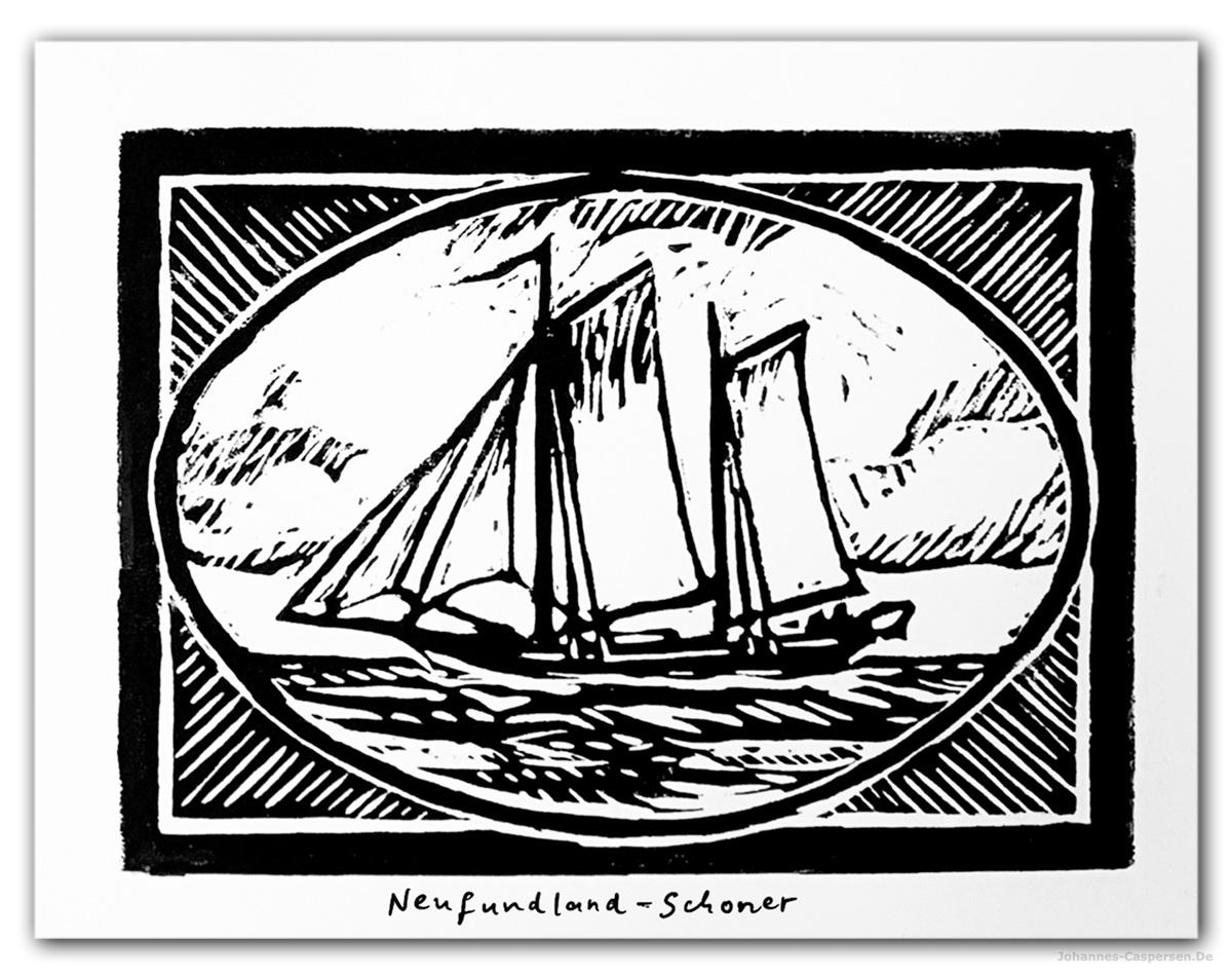 2020 Neufundland Schoner von Johannes Caspersen