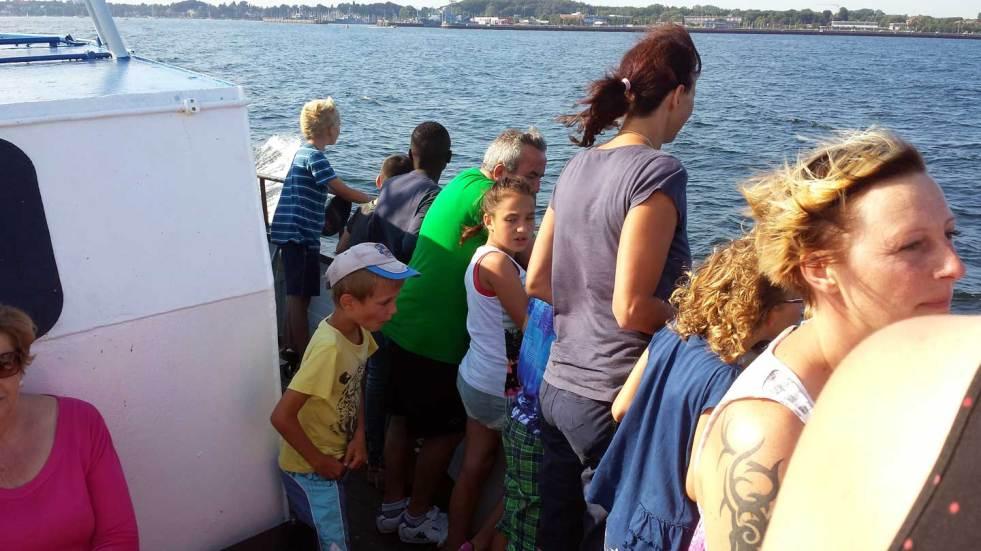 Bootsfahrt mit der Johannes Kuhn-Stiftung