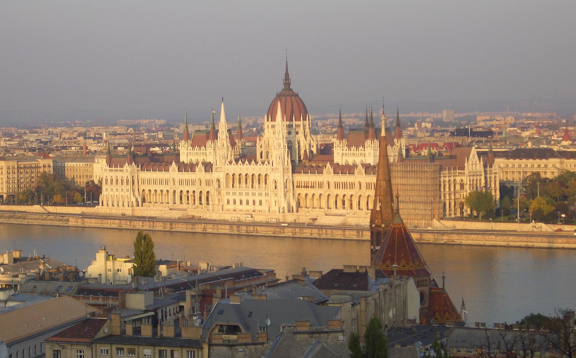 Das ungarische Parlamentsgebäude