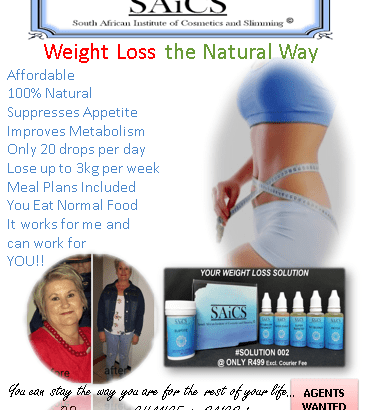 ADVERT WEIGHT LOSS WITH SOL 002 19022020 AGENTS WANTED