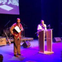Siphiwo Malaha delivers his inaugural postdoctoral address